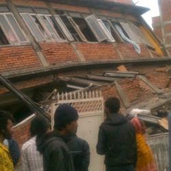 Earthquake leaves doors open for evangelism