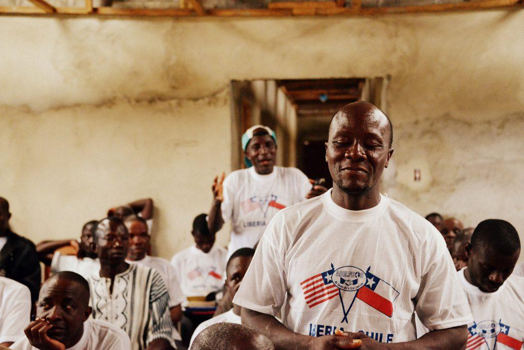 Adelphos teeshirts in Liberia