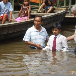 Baptizing in the Amazon