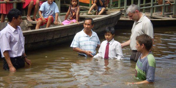 Baptizing in the Amazon