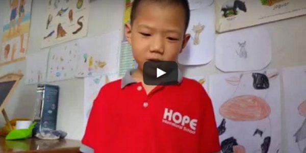 Burmese learns english