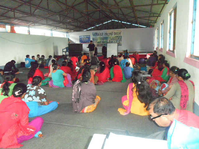 Church planting seminars in Nepal