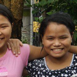 Orphanage girls get saved