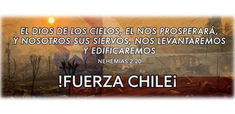 Adelphos sign for Chile fires