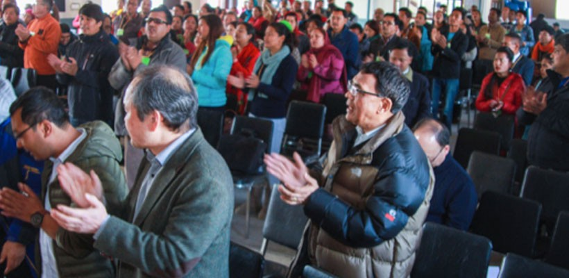 Missions conference Nepal