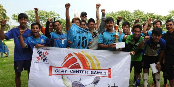 CLAY center games day