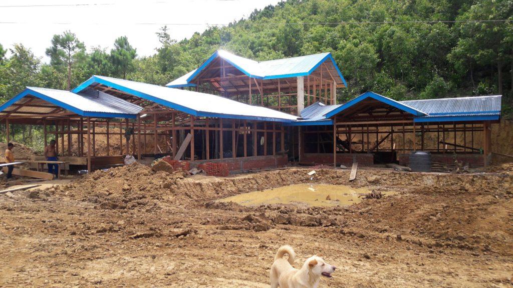 Engedi camp dining hall