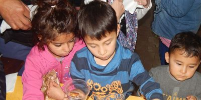 kids in the refugee camps