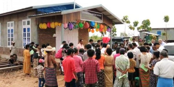 Myanmar churches progress