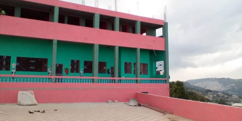 the school almost finished